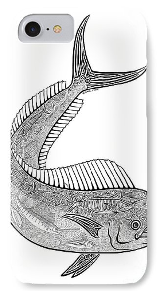 Tribal Mahi  IPhone Case by Carol Lynne