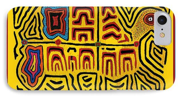 Tribal Turtle Spirit IPhone Case by Vagabond Folk Art - Virginia Vivier