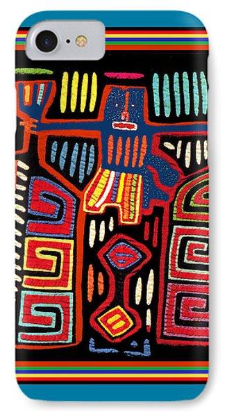 Tribal Woman Fanning Stove IPhone Case by Vagabond Folk Art - Virginia Vivier