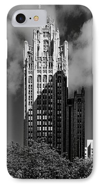 Tribune Tower 435 North Michigan Avenue Chicago IPhone Case