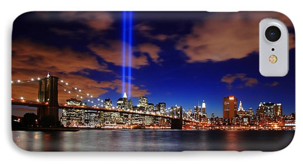Tribute In Light IPhone Case by Rick Berk