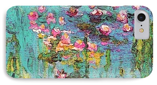 Tribute To Monet II IPhone Case by Holly Martinson
