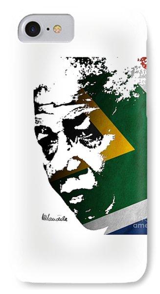 tribute to Nelson Mandela IPhone Case
