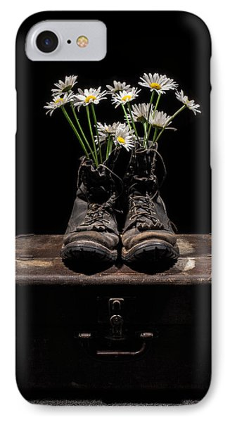 Tribute To The Fallen IPhone Case by Aaron Aldrich