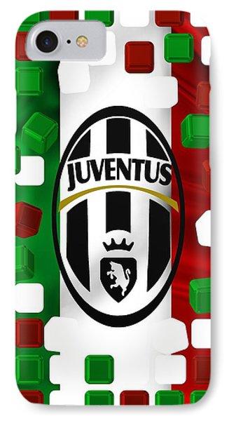 Tricolore Juventus IPhone Case by Alberto RuiZ