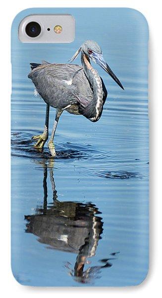 Tricolored Heron Full Tilt IPhone Case