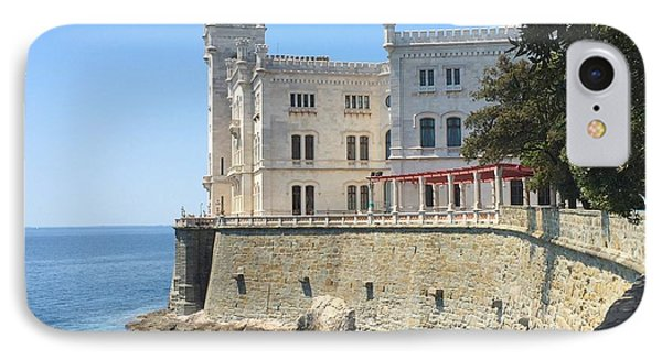 Trieste- Miramare Castle Phone Case by Italian Art