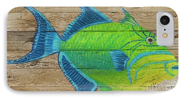 Triggerfish IPhone Case by Danielle Perry