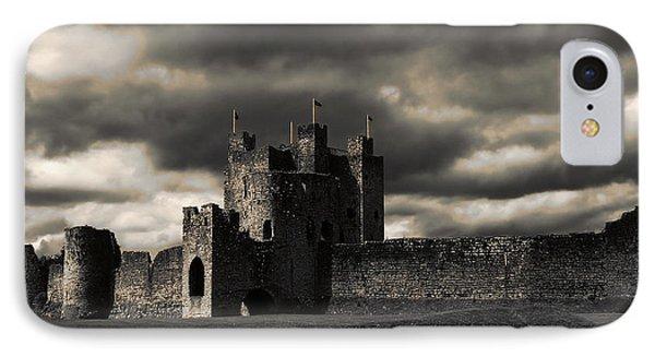 IPhone Case featuring the photograph Trim Castle by Menega Sabidussi