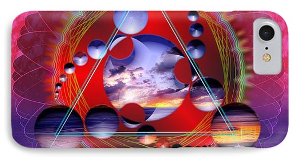 Trinity IPhone Case by Arie Van der Wijst