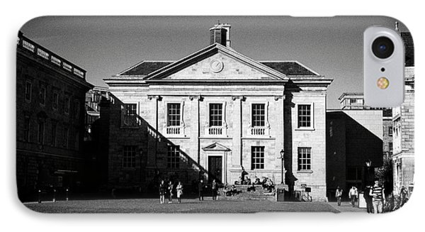 trinity college Dublin dining hall building Republic of Ireland IPhone Case