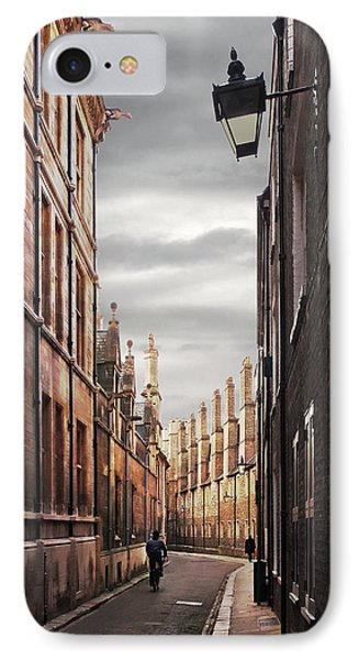 IPhone Case featuring the photograph Trinity Lane Cambridge by Gill Billington