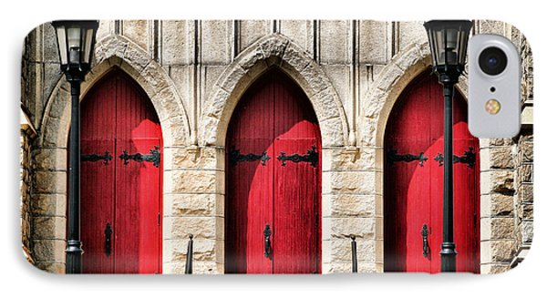 Trinity Lutheran Entrance IPhone Case