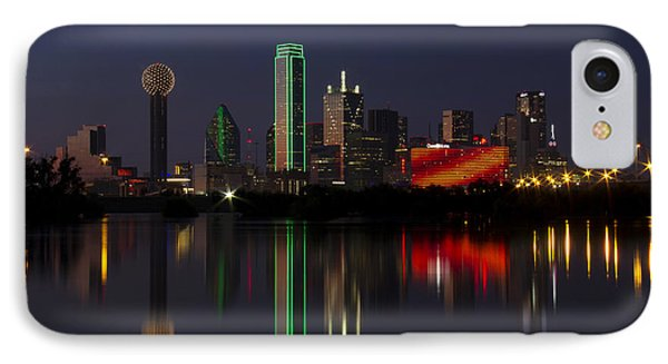 Trinity River Dallas IPhone Case