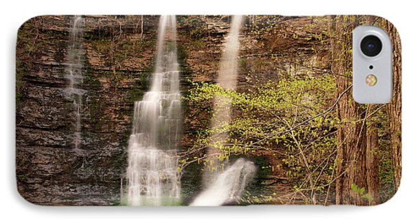 Triple Falls Landscape Phone Case by Tamyra Ayles