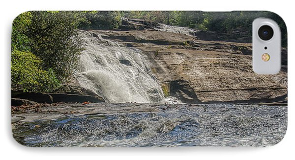 IPhone Case featuring the photograph Triple Falls Second Tier by Steven Richardson