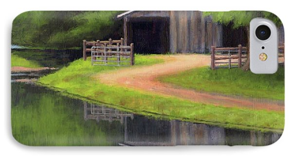 Triple L Ranch  IPhone Case by Janet King