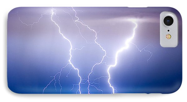 Triple Lightning IPhone Case by James BO  Insogna