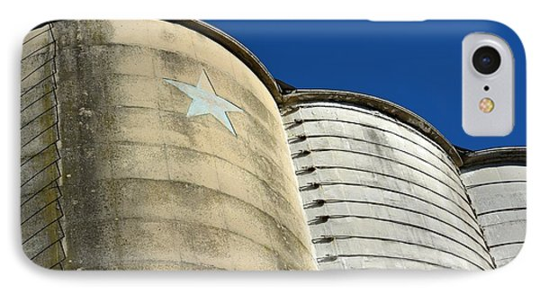 Triple Silo With Star IPhone Case