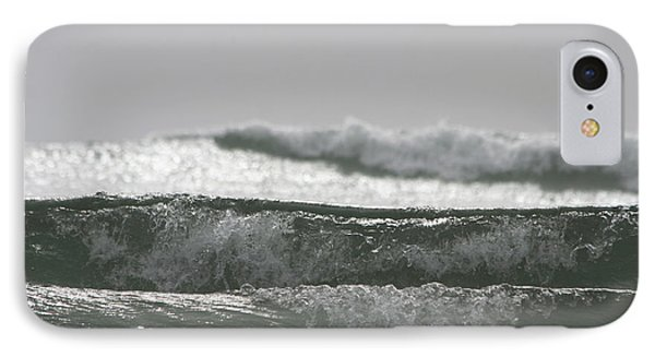 IPhone Case featuring the photograph Triple Wave Action by Holly Ethan