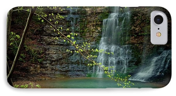 Tripple Falls Phone Case by Iris Greenwell