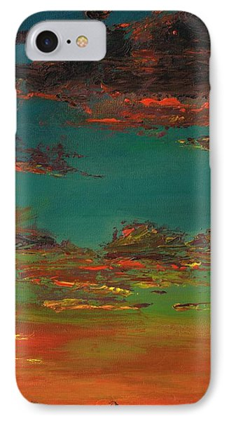 Triptych 3 IPhone Case by Frances Marino