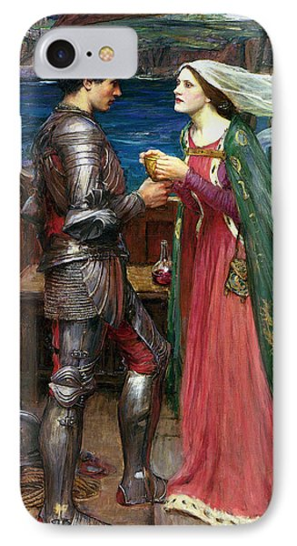 Tristan And Isolde With The Potion IPhone Case by John William Waterhouse