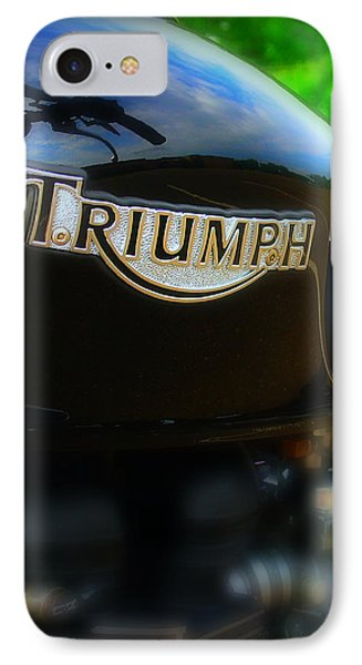 Triumph IPhone Case by Perry Webster