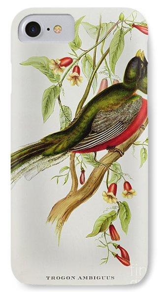 Trogon Ambiguus IPhone Case
