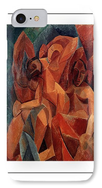 Trois Femmes Three Women  IPhone Case by Pablo Picasso