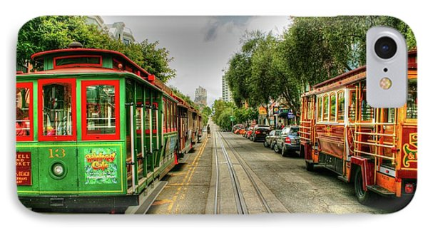 Trolley Cars IPhone Case