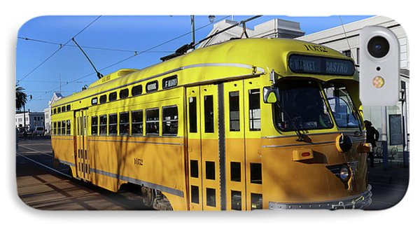 IPhone Case featuring the photograph Trolley Number 1052 by Steven Spak