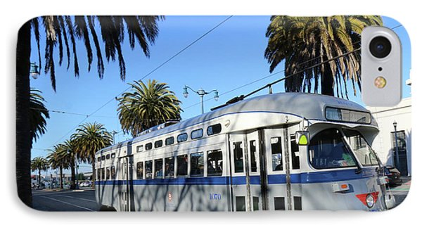 IPhone Case featuring the photograph Trolley Number 1070 by Steven Spak