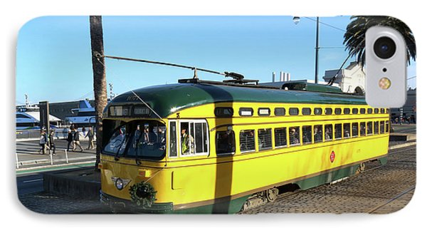 IPhone Case featuring the photograph Trolley Number 1071 by Steven Spak