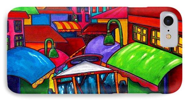 Trolley Phone Case by Patti Schermerhorn