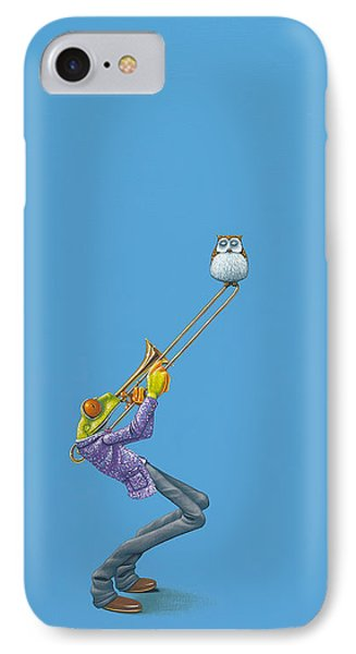 Trombone IPhone 7 Case by Jasper Oostland