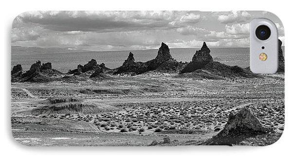 Trona Pinnacles Peaks IPhone Case by Marius Sipa