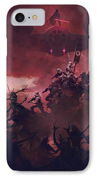 Troopers Vs Space Cockroaches 7 IPhone Case by Guillem H Pongiluppi