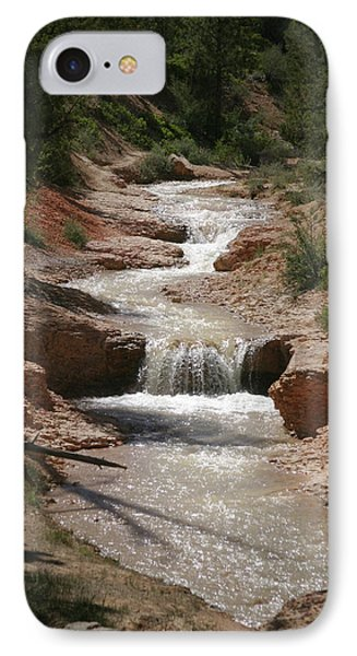 IPhone Case featuring the photograph Tropic Creek by Marie Leslie
