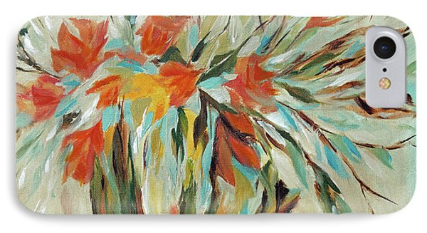IPhone Case featuring the painting Tropical Arrangement by Joanne Smoley