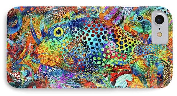Tropical Beach Art - Under The Sea - Sharon Cummings IPhone Case