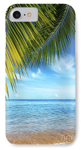 Tropical Beach Phone Case by Carlos Caetano