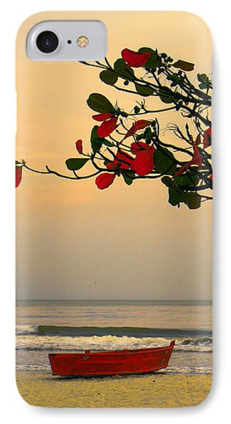 IPhone Case featuring the photograph Tropical Beach Sunset by Kim Wilson