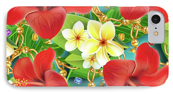 Tropical Color Party IPhone Case