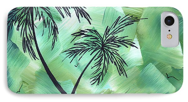 Tropical Dance 3 By Madart Phone Case by Megan Duncanson