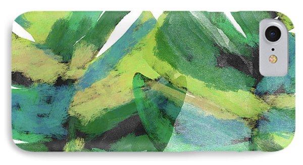 Tropical Dreams 1- Art By Linda Woods IPhone Case by Linda Woods