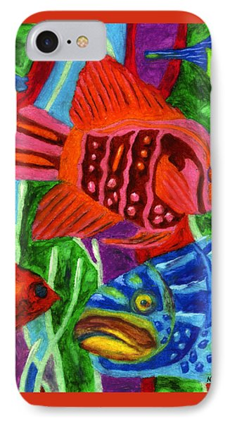 Tropical Fish IPhone Case by Molly Williams