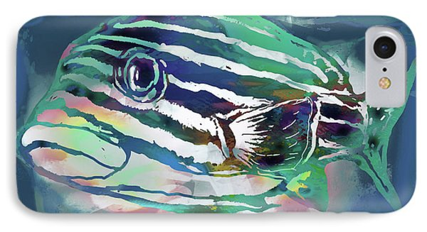 Tropical Fish - New Pop Art Poster IPhone Case