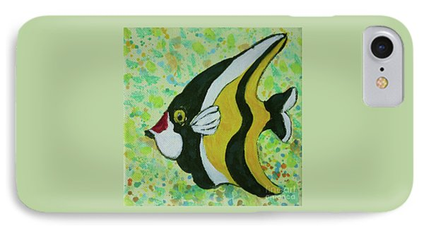 Tropical Fish Series 1 Of 4 IPhone Case by Gail Kent