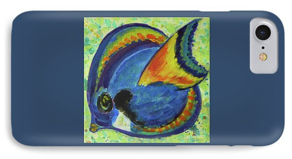 Tropical Fish Series 3 Of 4 IPhone Case by Gail Kent
